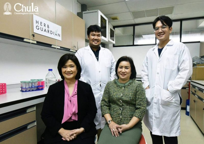 Chula Pharmaceutical Sciences Unveils New Innovation – PM2.5 Dust Fighting Spray
