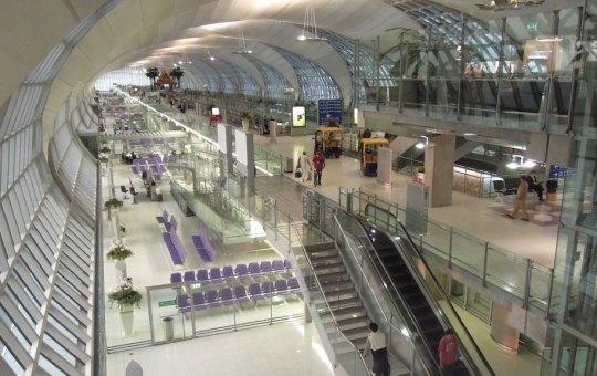 Concourse E at Suvarnabhumi Airport in Samut Prakan, near Bangkok