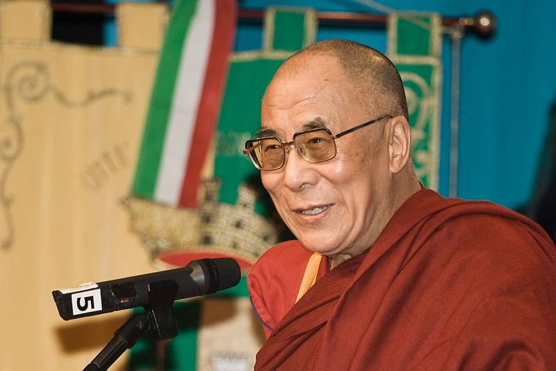 Tenzin Gyatso, the fourteenth and current Dalai Lama