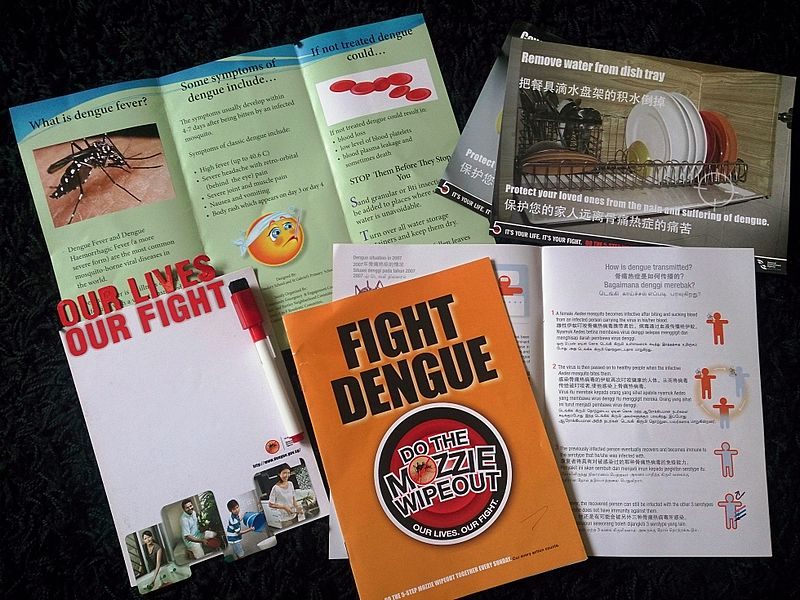 Dengue marketing materials