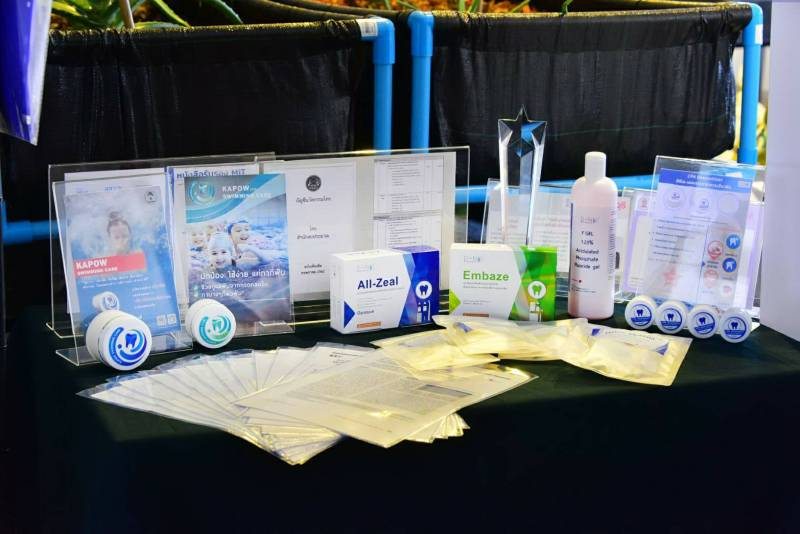 Dental products for general dental health by Chula's 4Ds Project group