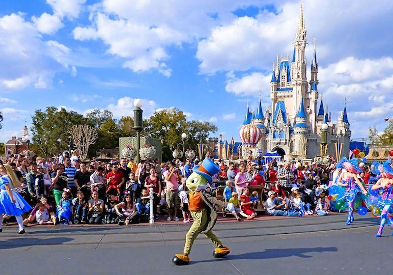 Disney's Festival of Fantasy Parade Finale.