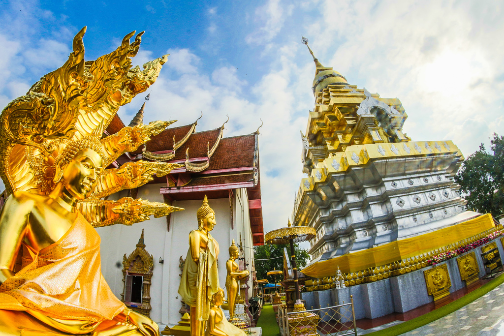 Wat Phra That Doi Saket in Chiang Mai