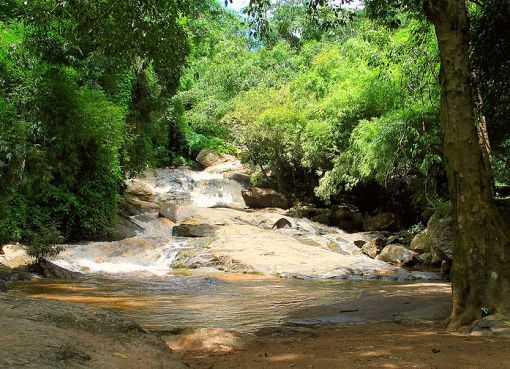 Mae Sa Waterfall in Doi Suthep National park