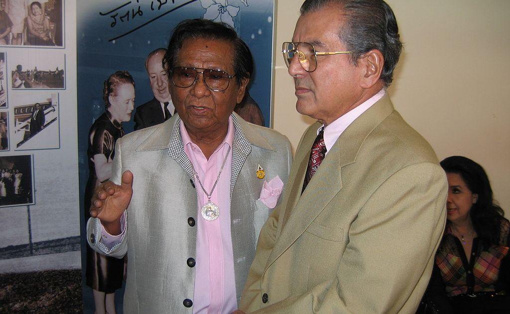 Thai film director Dokdin Kanyamarn with Edel Pestonji