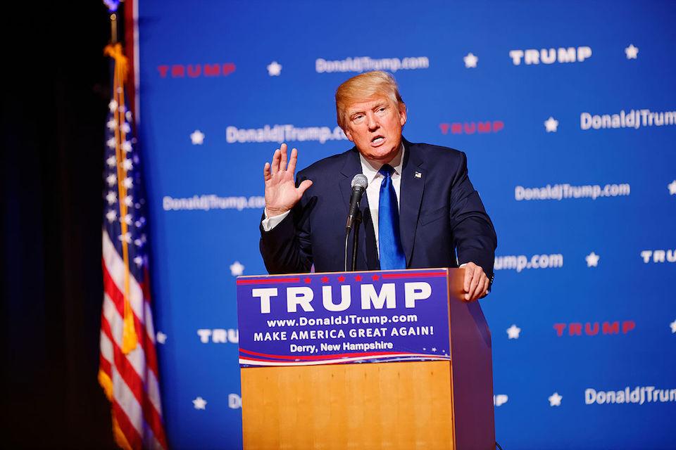 Donald Trump at New Hampshire Town Hall