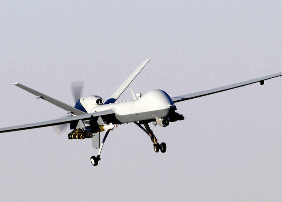 MQ-9 Reaper unmanned aircraft