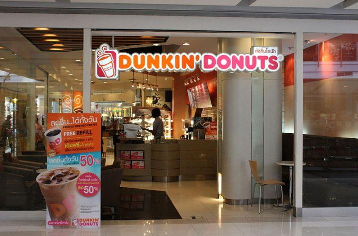 Dunkin Donuts in Bangkok