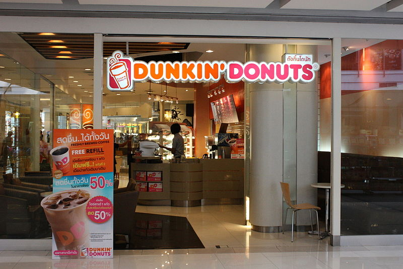 Dunkin' Donuts ad sparks racism row