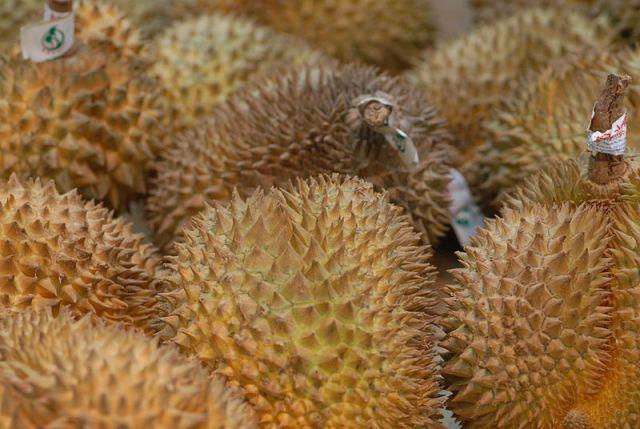 Sisaket sells durian online