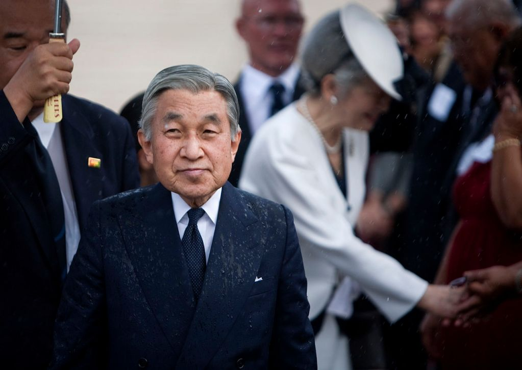 Emperor Akihito and Empress Michiko of Japan in 2009