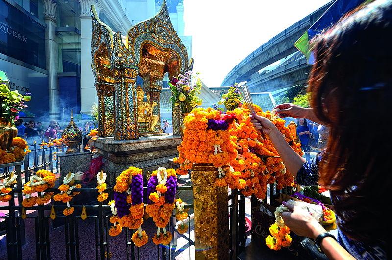 The Erawan Shrine