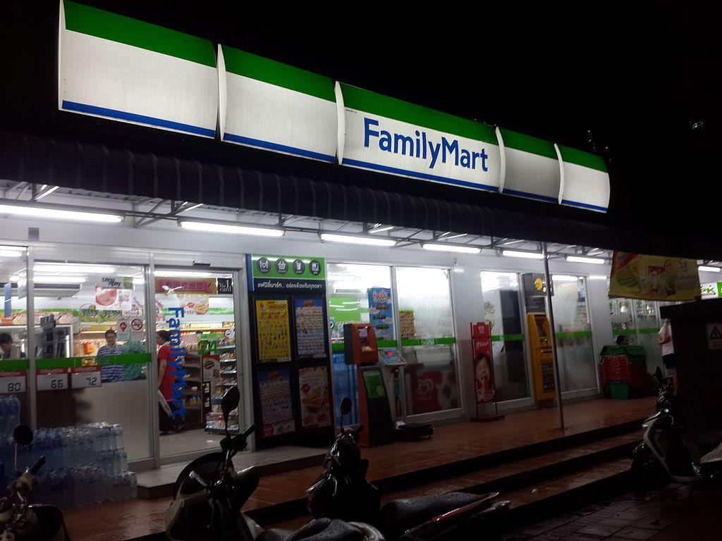 FamilyMart convenience store in Pattaya