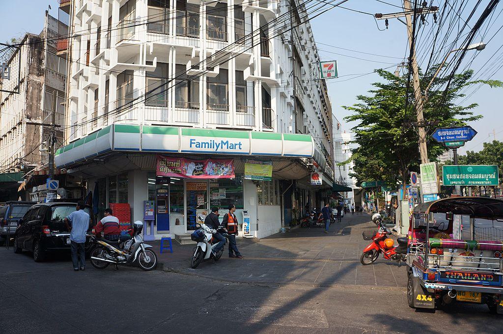 FamilyMart Store in Soi Chom Sombun, Bangkok