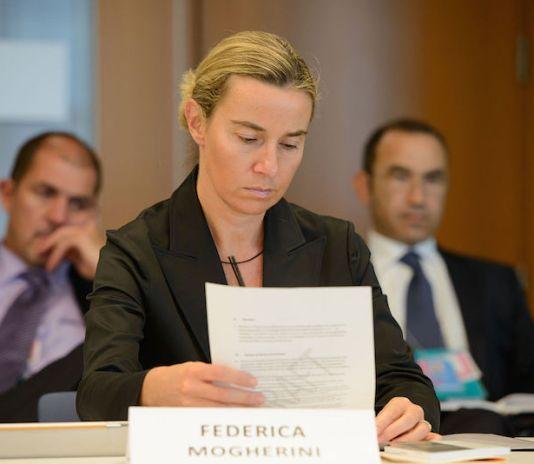 Federica Mogherini NATO