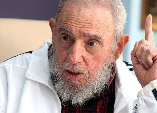 Vladimir Putin met with Fidel Castro during his visit to Cuba