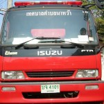 Isuzu Fire Engine in Na Wa