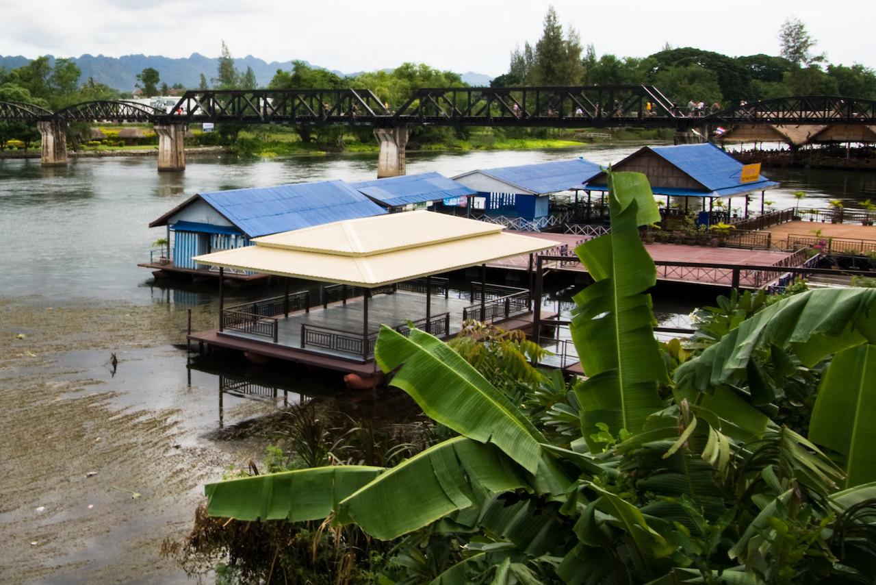 Luxury Rafts Removed from Kanchanaburi National Park