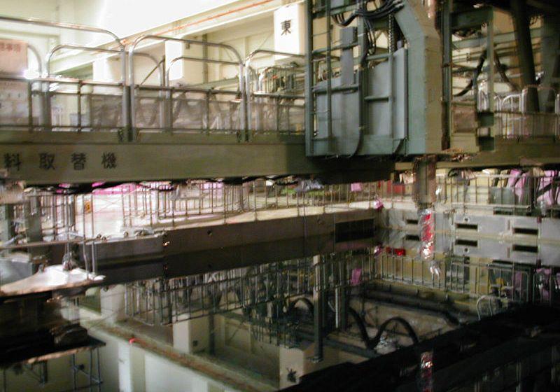 Inside the Fukushima I Nuclear Power Plant