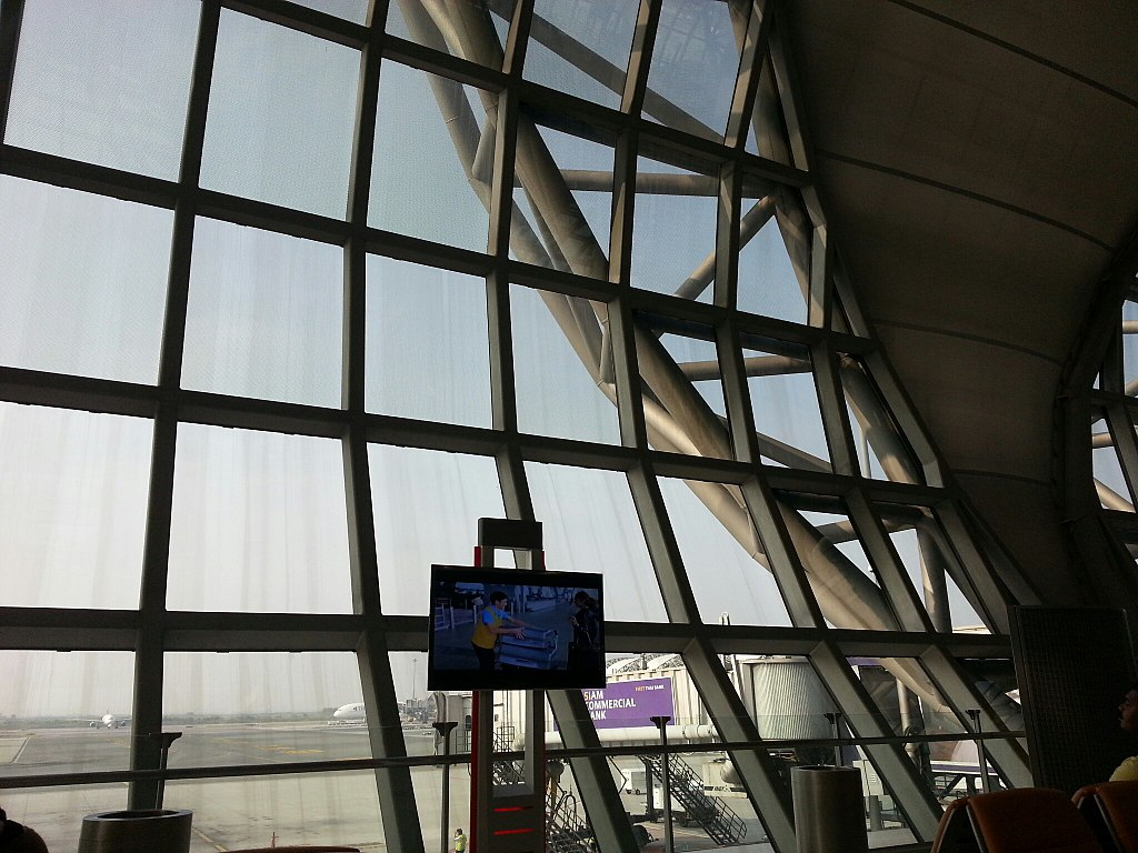 Gate at Suvarnabhumi International Airport