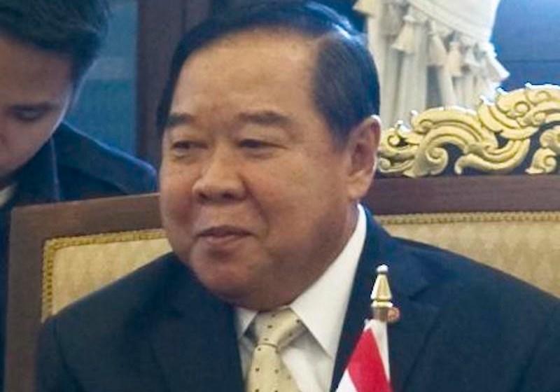 Deputy Prime Minister Prawit scoffs at 'early election'