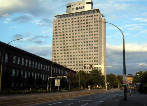 BASF building in Germany