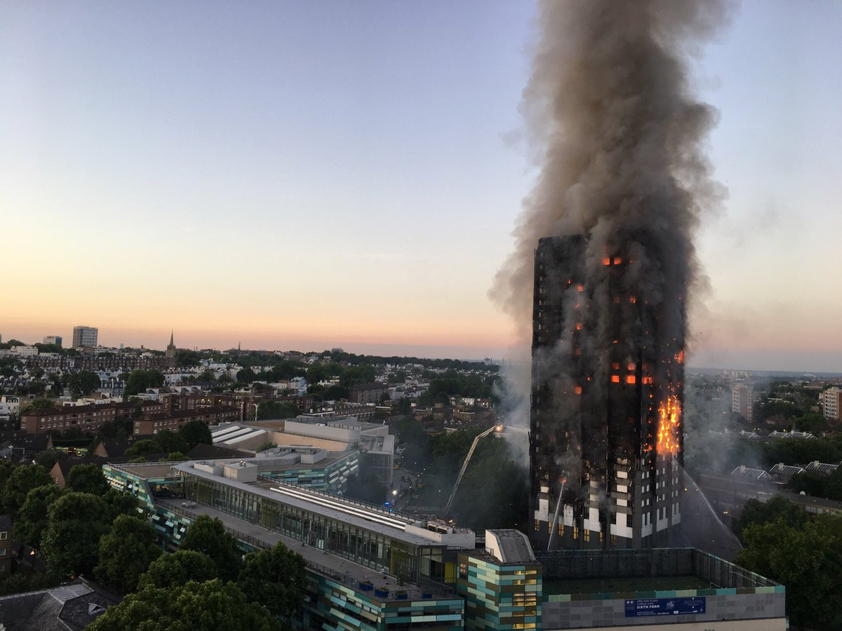 Theresa May's Katrina moment following the Grenfell Tower fire