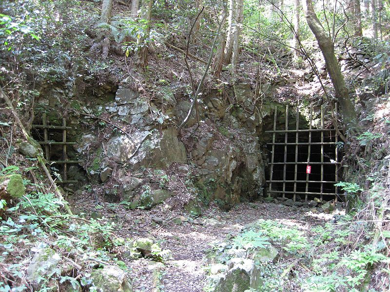 Gold mine tunnel entrance