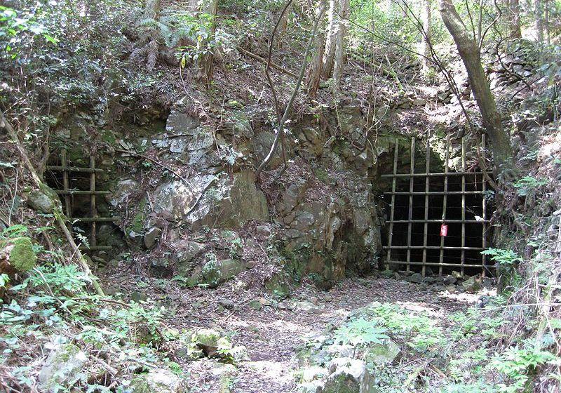 Gold mine tunnel entrance