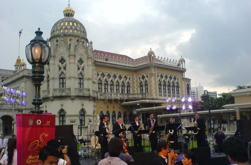 Live concert at the Government House Of Thailand in Bangkok
