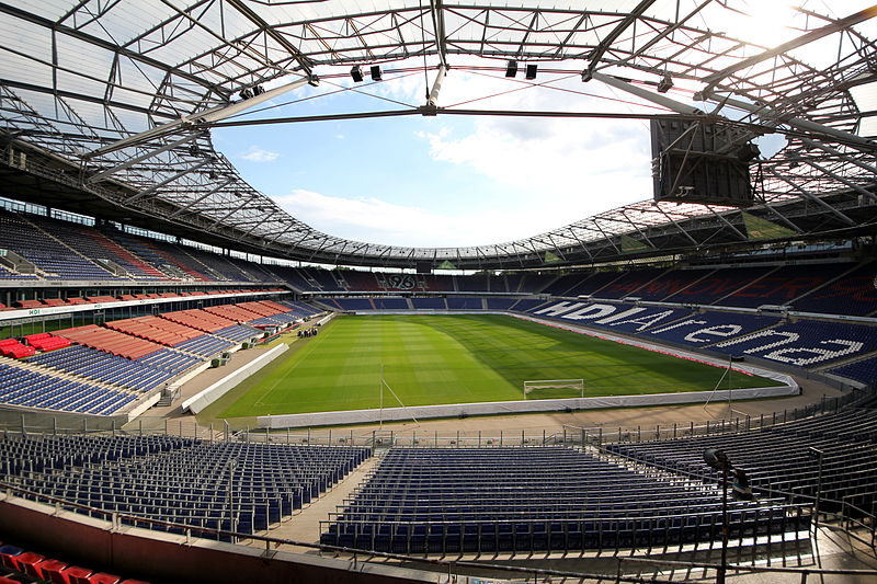 The HDI Arena Stadium in Hannover