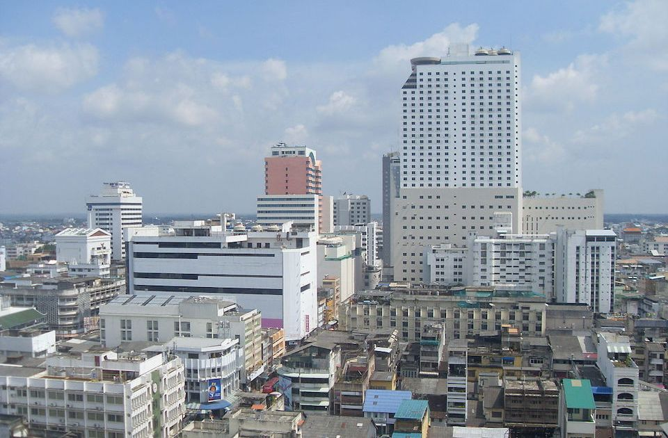 Hat Yai skyline