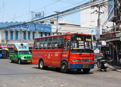 Bus in Hua Hin town