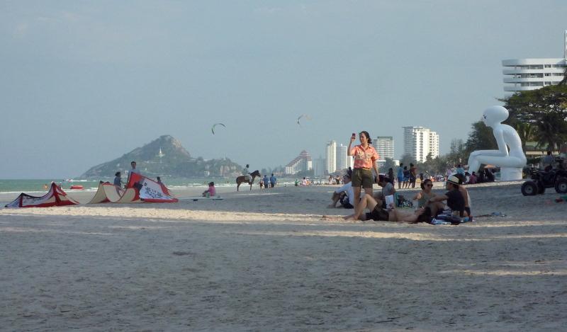 Hua Hin beach in Thailand