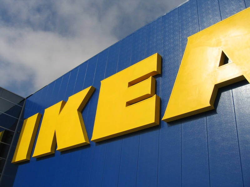 Store front of IKEA