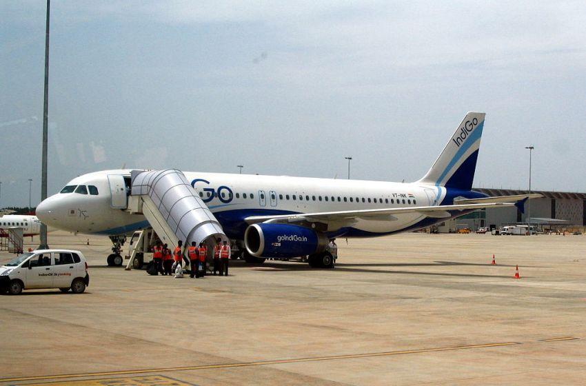 IndiGo Airbus A320 aircraft