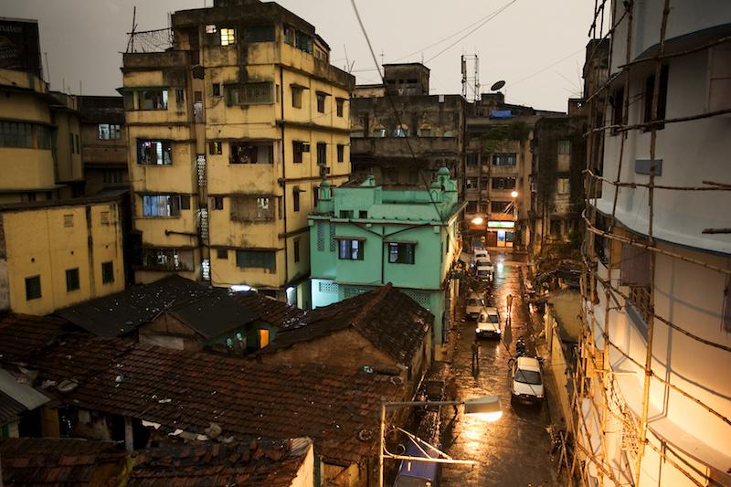 Street traffic in Kolkata