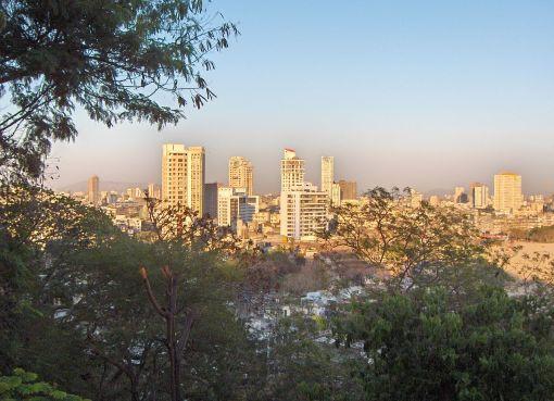 Malabar Hill in Mumbai, India