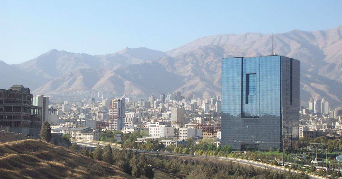 Tehran, the capital of Iran.
