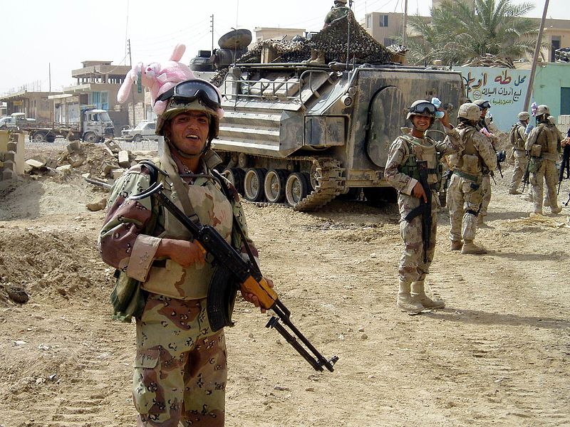 Troops in Iraq