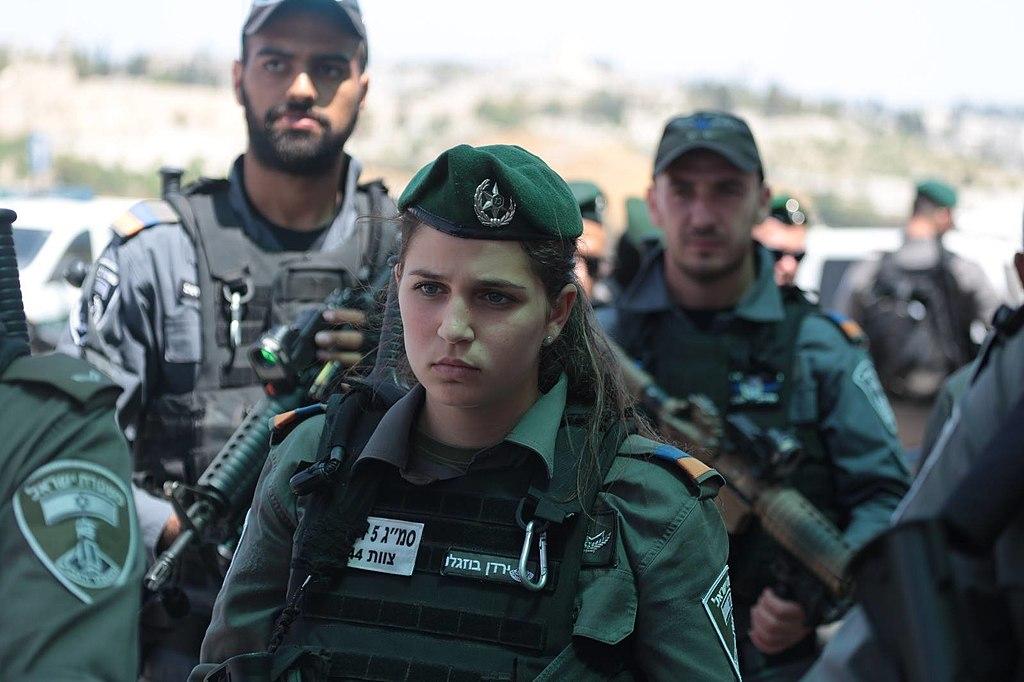 Israeli police officers in Jerusalem