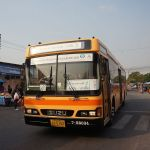 Shuttle bus at Bang Sue Station, Bangkok