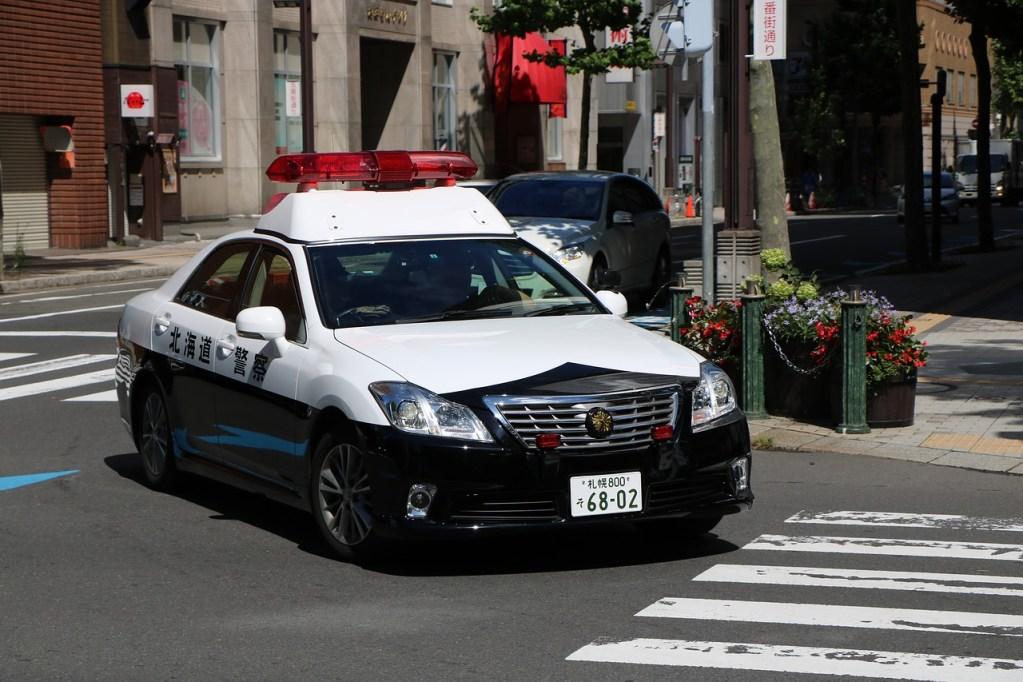 Subaru Japanese police car