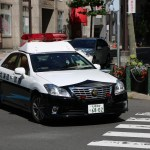 Subaru Japanese police car
