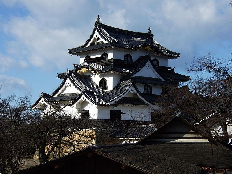 Hikone castle in Japan