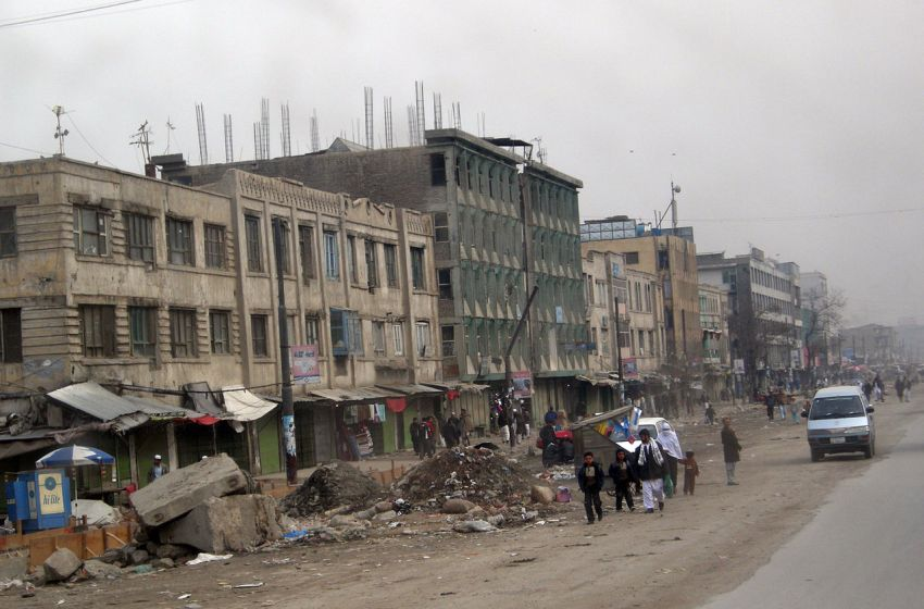 Kabul Downtown in Afghanistan