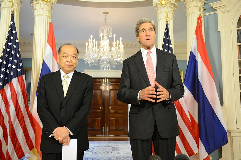 Secretary Kerry Meets With Thai Foreign Minister Tovichakchaikul