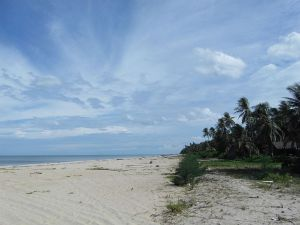 Khanap Nak beach in Nakhon Si Thammarat