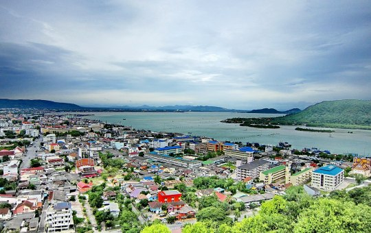 Khao Tang Kuan, a tourist attraction in Muang District of Songkhla Province
