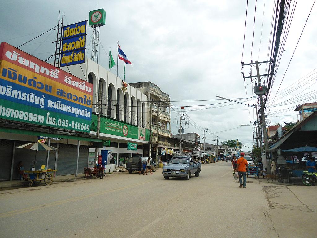 Khlong Lan Market in Kamphaeng Phet Province